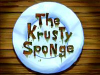 The Krusty Sponge  -  Le critique gastronomique