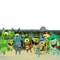 Personnage : Famille Plankton